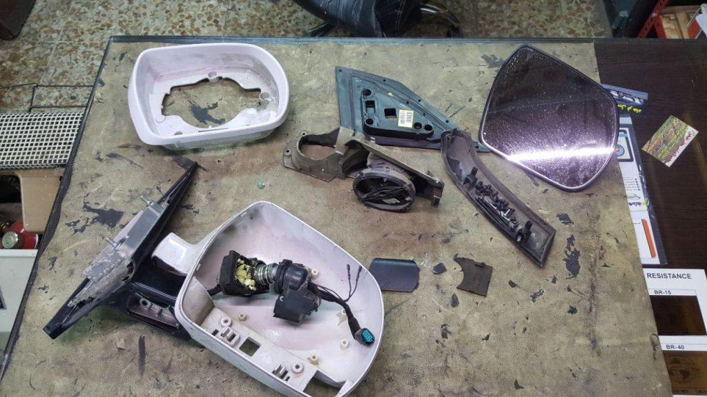 تعمیر آینه برقی در کرج